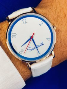 The White Leather Strap Muse