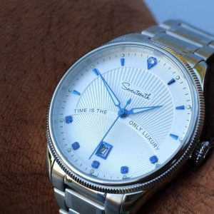 Seventeenth Watches - Silver Strap Neptune